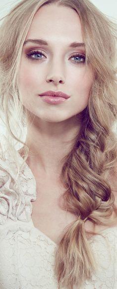 peinado de novia trenza
